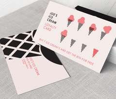 Professionally made business cards