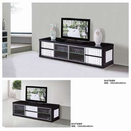 Glass paint TV cabinet and coffee table Melville - image 5