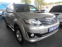 2012 Toyota Fortuner 3.0D-4D 4x4 For R310000