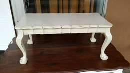 Coffee table done in shabby chic