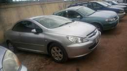 Tokunbo Peugeot 307cc 2007 Convertible