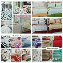 Bedcover with bedsheet