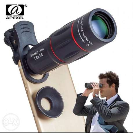 APEXEL 12X Telescope Zoom Mobile Phone Lens for iPhone Samsung Smartph