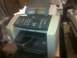 Reliable machine that prints scans and faxes + photocopy