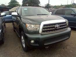 Toyota Sequoia 2010 Model, Direct Foreign Use