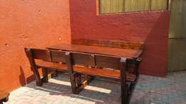 8 seater benches