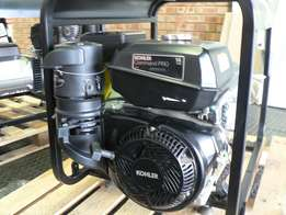 KOHLER 6 kVA Generator with AVR, Manual Start, Petrol