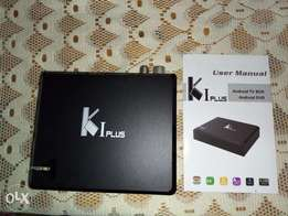 K1 plus 3 in one android box Tv1