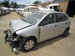 looking for a damaged polo vivo, sedan or hatch.