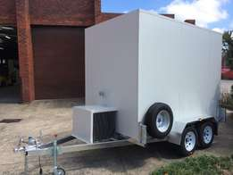 mobile freezers/mobile cold rooms/refrigerated trailers for sale.