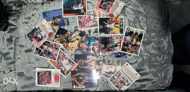 NBA players special cards (old collections)