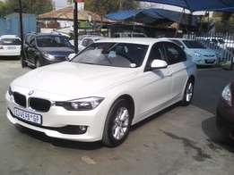 2013 BMW 320d A/t 62000km White Color FINANCE AVAILABLE