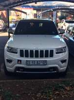 Immaculate Jeep Grand Cherokee Overland 3.0d 4x4