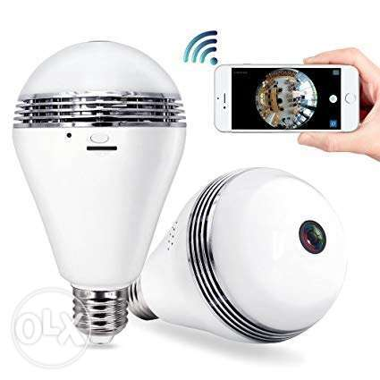 Security Camera Bulb Wifi System - TecBillion (Updated Version), Home