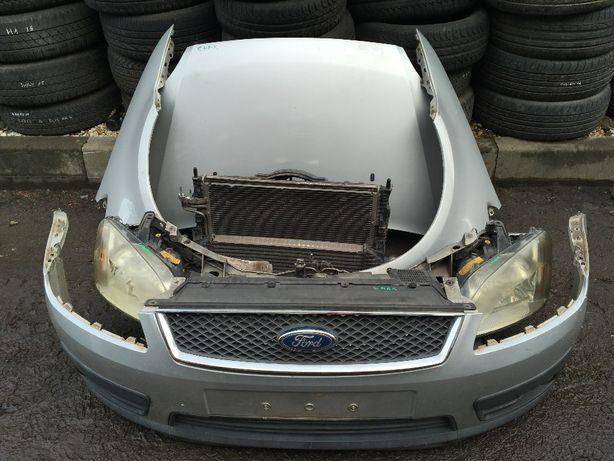 Ford C Max Cały Kompletny Przód Maska Błotniki Lampy Zderzak