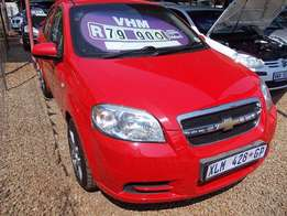 Chevrolet Aveo 1.5LS in Excellent Condition! One Owner, Full Serv Hist