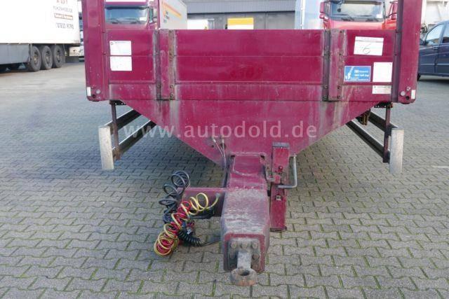 Meusburger MPT 2 Zentralachsanhänger Luftgefedert Bordwände - 2009 - image 10