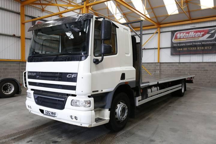 DAF CF65 EURO 5 4 X 2, 18 TONNE FLATBED - 2012 - GD12 MHF - 2012