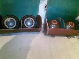 2 X Set of Rollballs with bags for sale