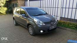Fully-loaded Nissan note