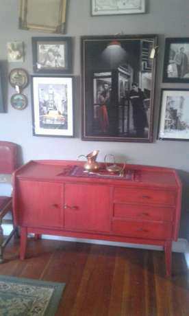 Red Retro sideboard Randfontein - image 5