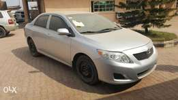Awoof! Lagos cleared 2008 Toyota Corolla le good to go