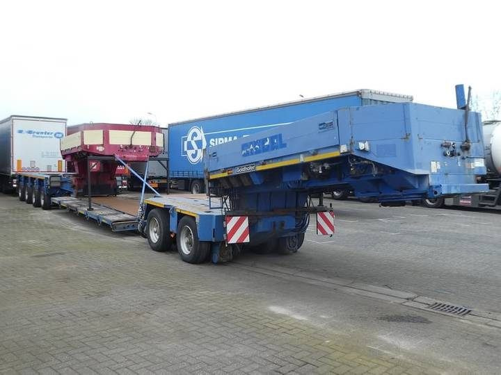 Goldhofer 2 BED 4 + EXTRA NECK 14 pendel axles - 2000