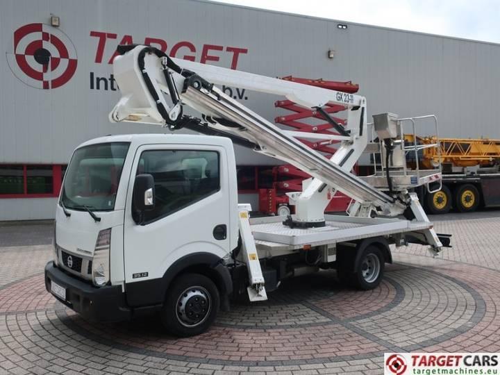 Nissan Cabstar NT400 35.12 w/ Manotti GX23-11 lift 2250cm - 2016