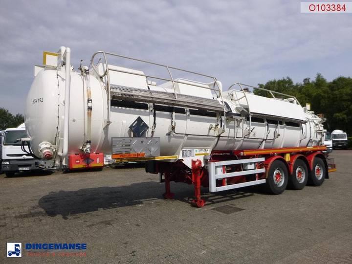 Whale  Vacuum tank inox 29.5 m3 / 1 comp - 2019