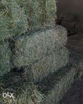 Lucerne & Oathay bales and chaff