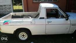 Nissan 1400... stil tyre still perfect.