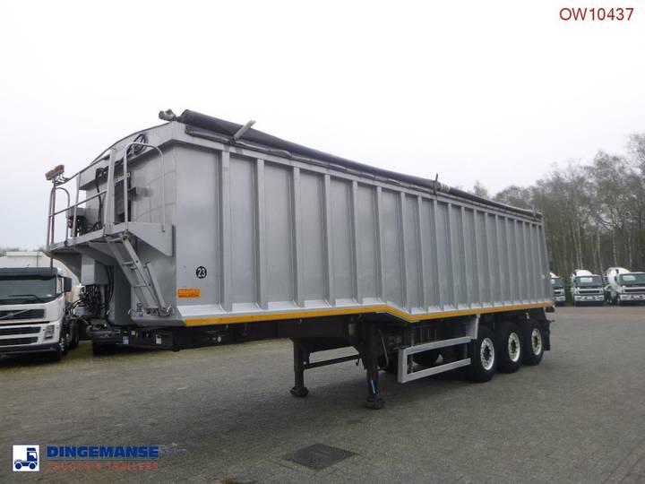 Wilcox Tipper trailer alu 48.5 m3 + tarpaulin - 2010
