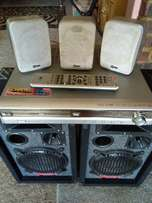 LG 5.1 surround amplifier and speakers