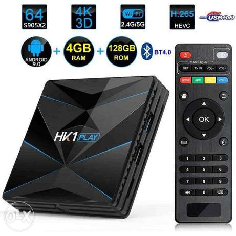 HK1 play 4g+64g Android tv box