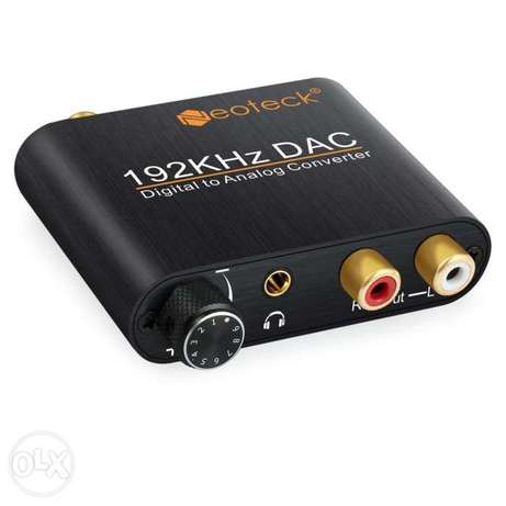 Neoteck 192khz Dac Converter With Volume Control Aluminum