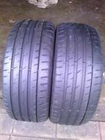 225/45/R17 runflat on special for sale in a good condition eachR1200