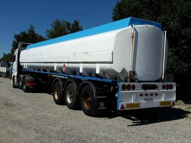 Kaessbohrer 43000 Liter ADR Gazole/Diesel Pomp Messanlage - 1990