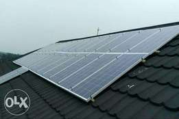 Full SOLAR energy installation for home, office and church/mosque