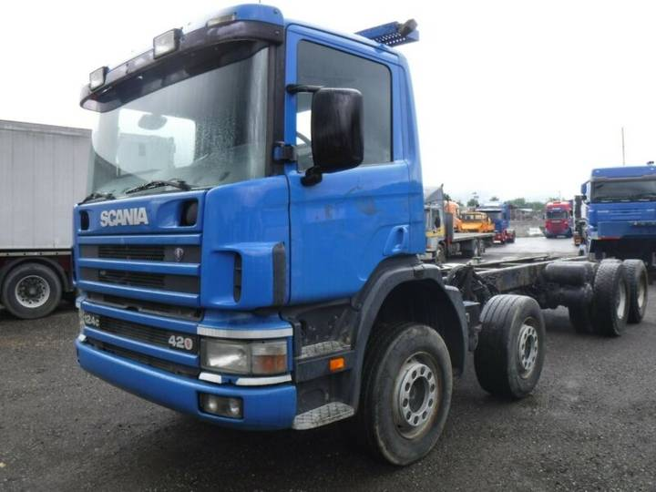 Scania 124-8X4-MANUAL-RETARDER-STEEL-HUB REDUCTION - 2003