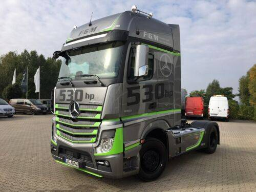Mercedes-Benz Actros 1853 LS GigaSpace Hydro / Leasing - 2017
