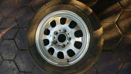Bmw mag with tyre 15 inch