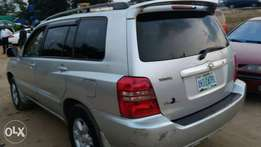 2003 Toyota Highlander Limited Edition With Leather Interior
