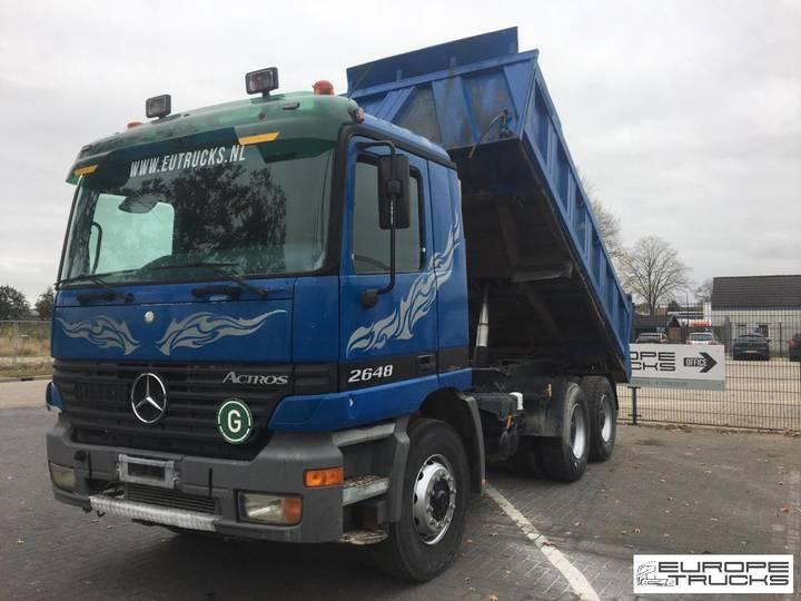 Mercedes-Benz Actros 2648 6x4 - Manual - Meiller tipper - Euro 2 - 1998