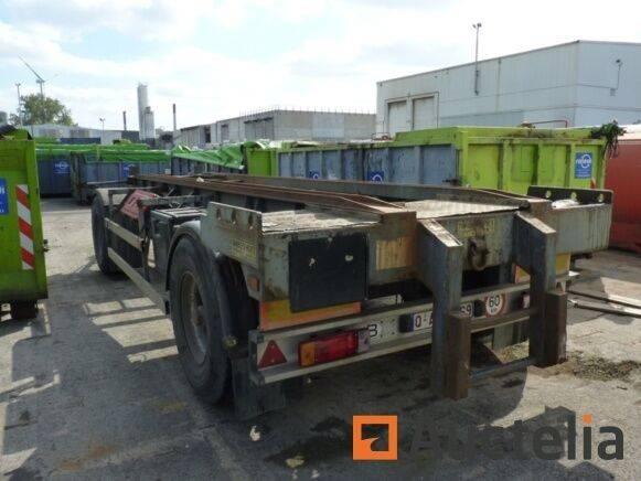 Desot Construction container trailer  - Matis 1478 - 2002