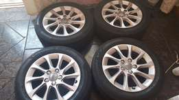 "Audi A3 16"" Rims and Tyres"