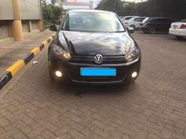 Volkswagen Golf Mk6 2010 TSI - Black with Alloy Rims