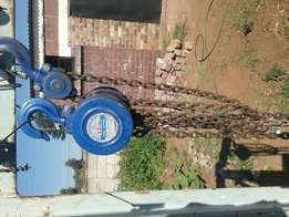 Hi am selling 1.5 ton chain block for R400