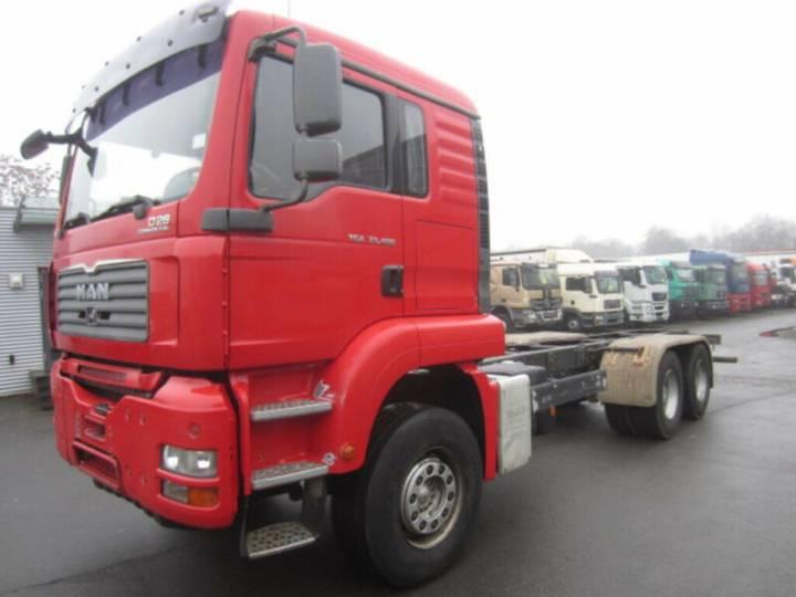 MAN TGA 33.480 6x4 BB, Langer Radstd., Euro4 - 2007