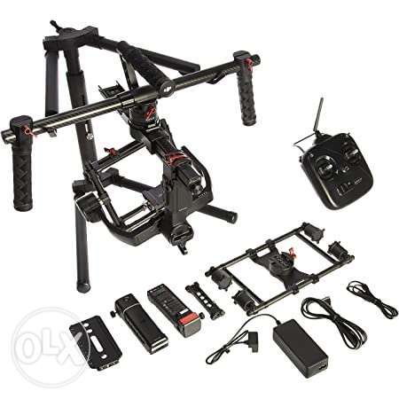Dji ronin mx with thumb controller cage and jacket