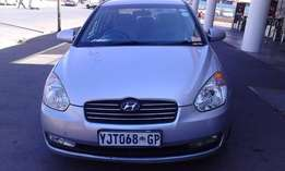 Hyundai Accent 1.6 GL Model 2009 Colour Silver Factory A/C & CD Player